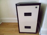 SILVERLINE 2 DRAWER FILING CABINET A4 LEICESTER