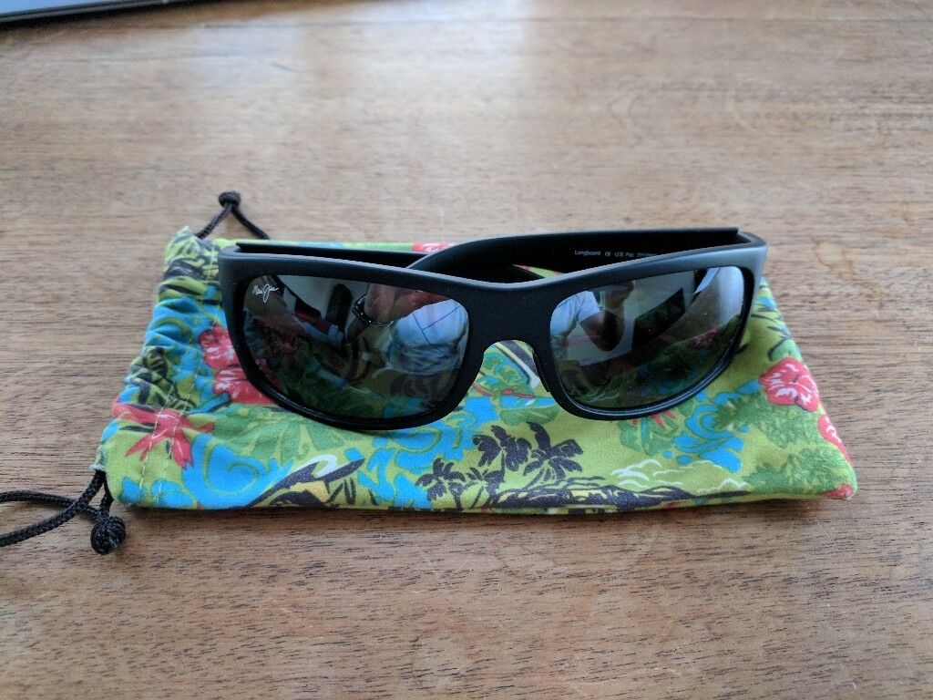 59a2f98fcfbb Maui Jim - Gunmetal Longboard Sunglasses - superb condition ...