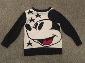 Next Mickey Mouse jumper Age 2-3