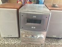 JVC CD player. Missing remote. Used and in excellent condition.