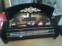 Electric fire free standing
