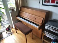 Knight piano, great condition with stool