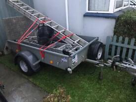Ifor williams P6E car trailer - not p5e p7e