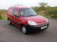Small Red Van, Citroen Berlingo