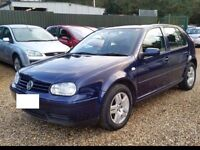 2004 VW GOLF 1.6 SE AUTOMATIC LOVELY BODYWORK 75000 ONLY WITH HISTORY