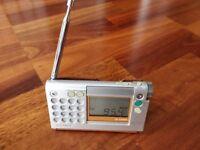 Retro Sony ICF-C1200 Travel Radio