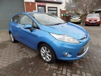 FORD FIESTA Zetec 5 Door Hatchback (blue) 2010