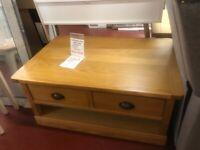 New oak coffee table £179 LAST ONE!