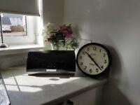 Kitchen clock/ bread bin