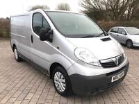 2008 Vauxhall Vivaro 2.0 CDTi 2700 SWB VAN, 132K MILES, LONG MOT, NO VAT (Renault Trafic)
