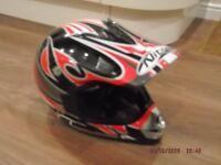Junior trial bike helmet - large