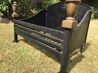 Cast iron fire crat