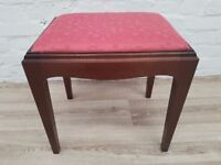 Stag Minstrel Dressing Stool (DELIVERY AVAILABLE FOR THIS ITEM OF FURNITURE)