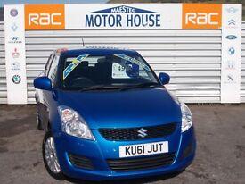 Suzuki Swift SZ3 DDIS (£20.00 ROAD TAX) FREE MOT'S AS LONG AS YOU OWN THE CAR!!! (blue) 2011