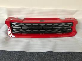 Range Rover Sport 2014-2016 Front Red Grille and Side Vents