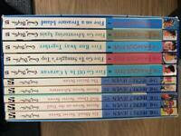 Enid Blyton book box set x 10 secret seven and famous five