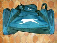 Slazenger navy blue sports bag