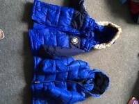 Boys coats 3-4 years okd