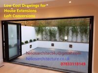 ARCHITECTURAL DRAWINGS, PLANNING APPLICATION, BUILDING CONTROL
