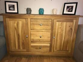 Mint Condition solid oak living room furniture