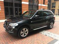 BMW X5 3.0d SE 5DR. 57 PLATE. AUTO. BLACK. FULL SERVICE HIST. SAT NAV. HPI CLEAR. MAY PART EXCHANGE