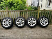 BMW 5 Series Alloys + Tyres