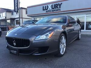 2015 Maserati Quattroporte Q4-NAV-ONE OWNER -ONLY 13 K