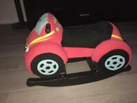 Car rocking toy for toddler