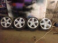 """18"""" audi rs4 & 18"""" rs6 wheels"""
