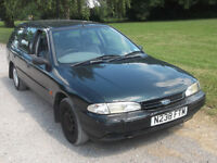 1995 FORD MONDEO LX DIESEL TURBO 1.8, MOT MARCH 2017, ONLY £200