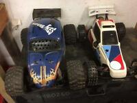 Fg marder and fg beetle rc cars