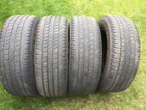 4 Goodyear Wrangler HP - 275/60/20 - 60% - $120 For All 4