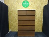 IKEA Birmingham, Mix MALM Chest of 6 drawers, brown stained ash 80x123 cm, WAS: £99, #bargaincorner