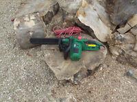 Qualcast electric chain saw