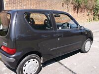 fiat seicento drives perfect needs hanbrake cable sorted out for mot no other issues