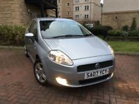 FIAT PUNTO 1.4 ACTIVE SPORT 2007 1 YEARS MOT FULL SERVICE HISTORY 9 STAMPS MINT