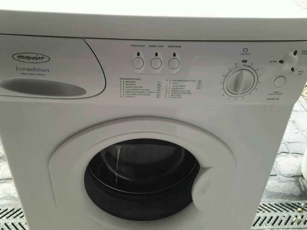 Hotpoint washing machine in good working order