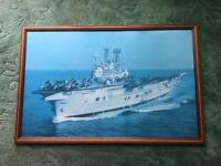 HMS ARK ROYAL FRAMED PICTURE