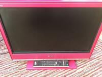 Sony Bravia HD Pink TV