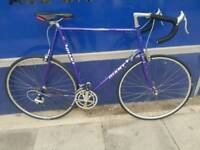 Immaculate giant peloton superlite shimano road 105 road racer bike bicycle