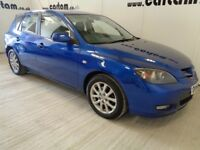 2008 Mazda 3 Takara 1.6 Blue Full Comprehensive History Air-Con CD Alloys 5 door HPi Clear £1695