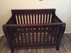 """Solid Wood 56"""" X 33"""" Crob bought at E Children/West coast kids in Mint Condition."""
