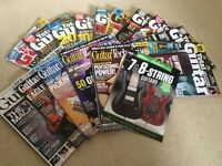 Total Guitar and Guitar Techniques magazines