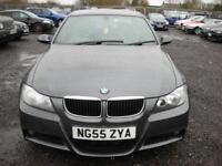 BMW 3 SERIES 2.0 320D M SPORT 4d 161 BHP (grey) 2006