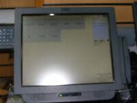 "17"" IBM EPOS Till System Cash Register for Gym Members Club Hairdresser Salon"