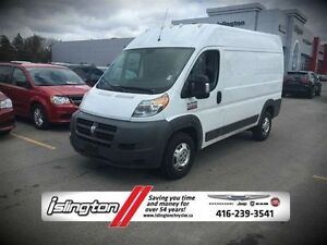 2015 Ram ProMaster 1500 BASE CARGO - HIGH ROOF 136'' WB, 3.6L V6