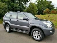 SORRY NOW SOLD!! 2007 Toyota Landcruiser 3.0 D4D AUTO LC4 8 SEATER, SAT-NAV, TOP SPEC!