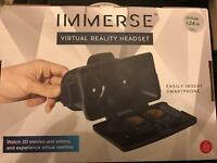 Brand new virtual reality headset