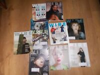 Wire magazine – 10 back issues