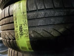 1 winter tire continental contiwintercontact 225/50r17  SPECIAL SPECIAL!
